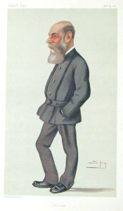 Captain Boycott, from Vanity Fair in 1881