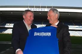 Two Rangers shareholders celebrate increased turnover through sponsorship deal