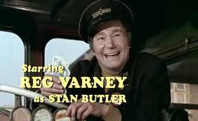 Reg Varney, who was, and this is true, the first person in Britain to use an ATM!