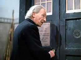 Mr Leggat prepares to enter the TARDIS to save Rangers