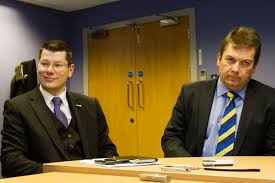 "The moment Neil Doncaster heard the words ""You're hired!"""