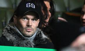 Freddy Ljungberg in his normal position for Celtic when he was the highest paid player in Scotland