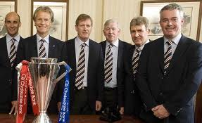 Remember the days when Ibrox Board Meetings could not be held in a phone box?