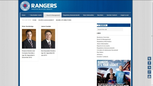 The Rangers Board
